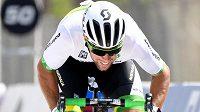 Australský cyklista Mark Renshaw na MS v katarském Dauhá.