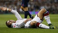 Zraněný Mario Götze si do konce roku nezahraje.