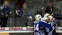 Radost hokejistů Plzně