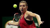 Zůstane rumunská tenistka Simona Halepová světovou jedničkou i po Turnaji mistryň?