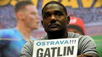 Jedna z největších hvězd světové atletiky Justin Gatlin