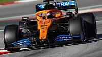 McLaren se kvůli pozitivnímu testu člena týmu na koronavirus odhlásil z Velké ceny Austrálie formule 1.