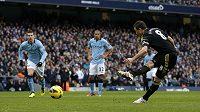 Frank Lampard z Chelsea neproměnil penaltu proti Manchesteru City.