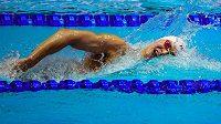 Čínský plavec Sun Jang