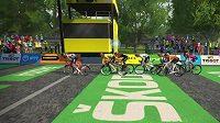 Premiérovou virtuální Tour de France ovládli cyklisté jihoafrického týmu NTT - ilustrační foto.