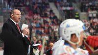 Trenér HC Dynamo Pardubice Richard Král uspěl na ledě Pardubic.