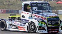 Adam Lacko se rozloučil se sezonou mistrovství Evropy tahačů výhrou v hlavním závodě ve španělské Jaramě