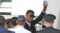 Cristiano Ronaldo po návratu z Eura.