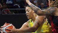 Brittney Grinerová z Phoenixu jako iniciátorka rvačky v sobotním utkání WNBA nesmí nastoupit do nejbližších tří zápasů zámořské soutěže