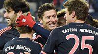 Spokojený střelec Bayernu Mnichov Robert Lewandowski.