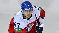 Kapitán české reprezentace Jan Kovář.