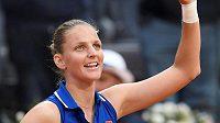 Karolína Plíšková slaví postup do finále turnaje v Římě