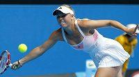 Světová jednička Caroline Wozniacká ztratila ve 2. kole Australian Open s Američankou Kingovou jen jeden game.