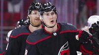 Martin Nečas z Caroliny byl vyhlášen druhou hvězdou uplynulého týdne v NHL