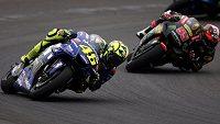 Itala Valentina Rossiho pořádně naštval mistr světa v MotoGP Španěl Marc Márquez.