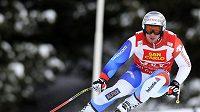 Švýcarský lyžař Beat Feuz