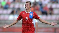 Střelec jediného gólu proti Nizozemsku Ondřej Petrák.