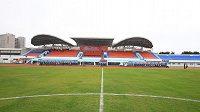 Stadión v Chaj-kchou si slávisté pochvalovali.