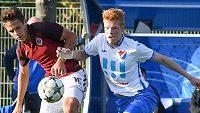 Šestnáctiletý záložník Samuel Grygar (vpravo) přestoupil z Baníku Ostrava do Interu Milán.