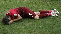 Zraněný portugalský bek Fabio Coentrao už na MS dohrál.