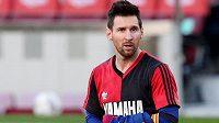 Messi slavil gól v Maradonově retro dresu