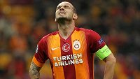 Svlékne nizozemský záložník Wesley Sneijder dres Galatasaraye Istanbul a zamíří na Old Trafford?