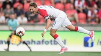 Slávistický kanonýr Milan Škoda v Borisově znovu osvědčil svůj čich na góly.