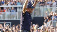 Americký golfista Phil Mickelson se mohl radovat z velkého úspěchu