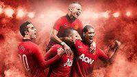 Nové dresy Manchesteru United pro sezónu 2014.