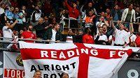 Fanoušci Anglie podporují svůj tým (ilustrační foto).