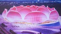Neskutečný pohled na plány nového čínského stadionu