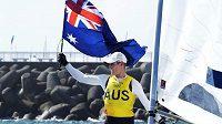 Australan Matt Wearn vyhrál olympijský závod jachtařů v kategorii Laser