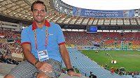 Bývalý světový rekordman v desetiboji Roman Šebrle přijel na mistrovství světa do Moskvy jako ambasador mezinárodní atletické federace.