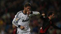 Sergio Ramos z Realu se raduje z branky.