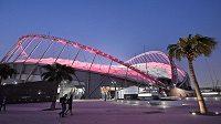 Stadion Chlaífa je dějištěm sedmnáctého mistrovství světa v atletice.
