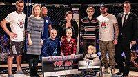 """Loňský rok projekt """"MMA pomáhá"""" vybral přes 217 tisíc korun."""