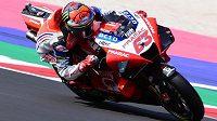 Francesco Bagnaia bude jezdit za tovární tým Ducati.