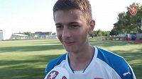 Kapitán českého reprezentačního výběru do 16 let Eric Hunal