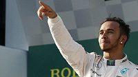 Lewis Hamilton po Velké ceně Austrálie.