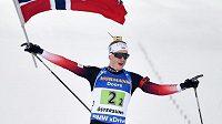 Johannes Thingnes Boe se může radovat ze zlaté medaile