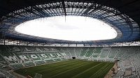 Stadión v polské Vratislavi bude dějištěm všech tří zápasů české reprezentace ve skupině A.