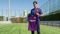 Talentovaný mladík Ludovit Reis přestoupil do Barcelony.