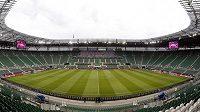 Vratislavský stadión, kde čestí fotbalisté odehrají všechny své zápasy ve skupině evropského šampionátu.