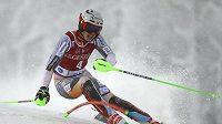 Norský slalomář Henrik Kristoffersen vyhrál o devět setin závod Světového poháru v Levi.