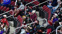 Utkání Arizony a San Jose mohla sledovat aspoň hrstka fanoušků