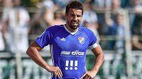 Milan Baroš z Baníku nedal v Mladé Boleslavi penaltu...