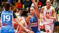 Basketbalistky Hradce Králové nenastoupí k ligovému utkání na palubovce brněnských Žabin (archivní foto)