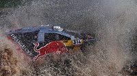 Sébastien Loeb na trati Rallye Dakar.