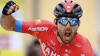 Italský cyklista Sonny Colbrelli měl důvod k radosti