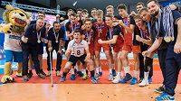 Čeští kadeti slaví zisk stříbrných medailí na domácím ME.